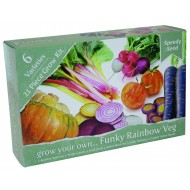 Grow your own Funky Rainbow Veg Kit