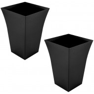 SPECIAL DEAL - Pair of High Fluted Planters